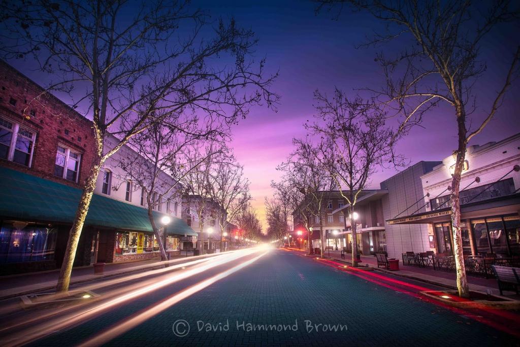 David Hammond Brown Photography - Downtown Sunrise - Lodi, California