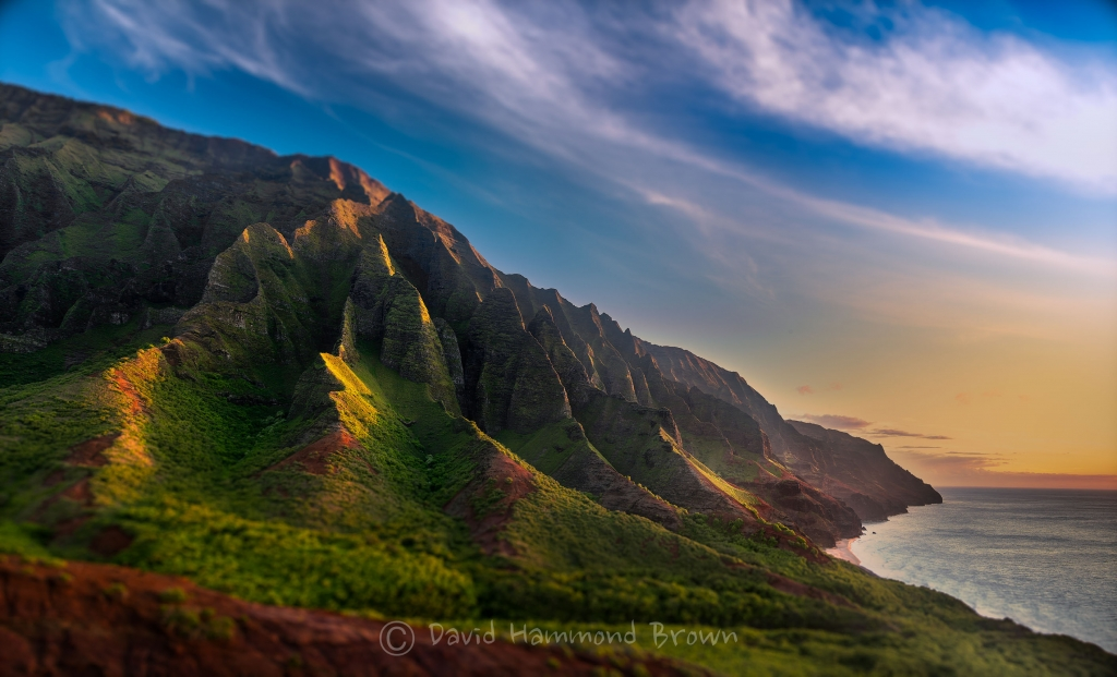 David Hammond Brown Photography - Na Pali Coast, Kauai
