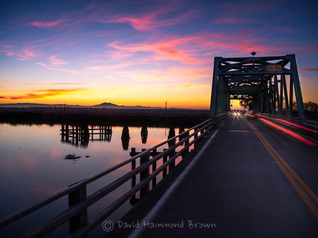 David Hammond Brown Photography - Sunset Over the Delta - Rio Vista, California