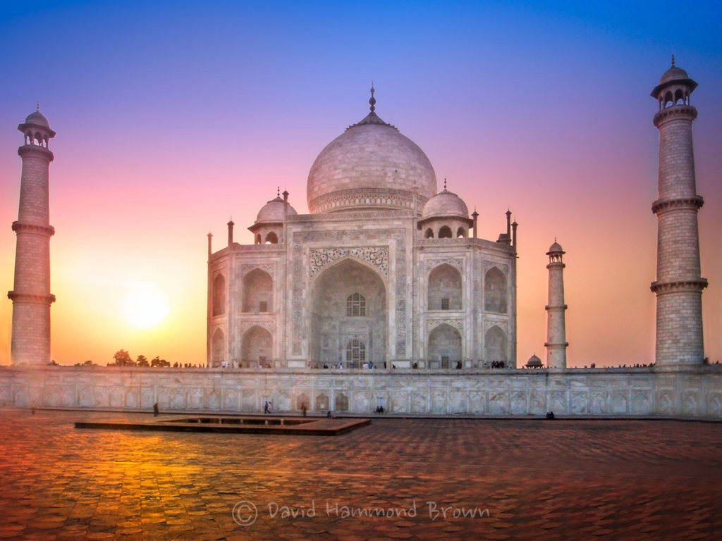 David Hammond Brown Photography - Taj Sunrise - Taj Mahal, India