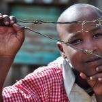 David Hammond Brown Photography - Barbed Wire Portrait